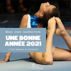Bonne année 2021 dans le respect des mesures sanitaires !